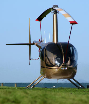 Take a ride on a helicopter on Moreton Island while enjoying your beach holiday